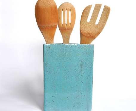 Pojemnik kuchenny 18cm - niebieski