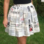 Spódnica gazeta