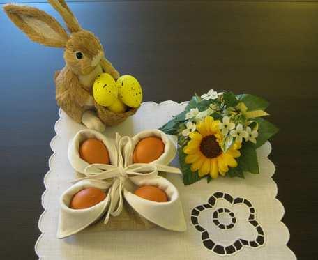Wielkanocny koszyczek na jajka