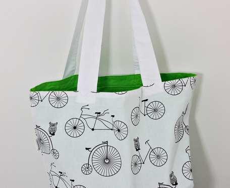 Torba na zakupy rowery