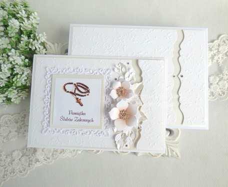 Kartka w pudełku z okazji Ślubów Zakonnych 35