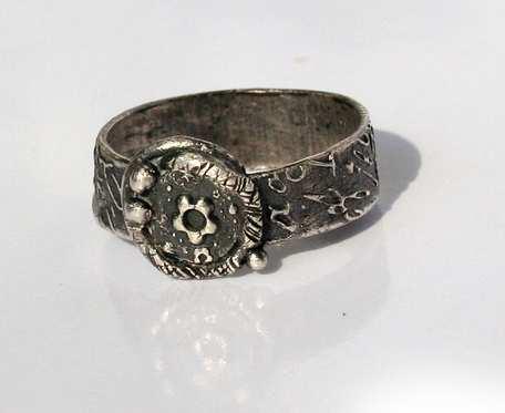 Kwiatuszek międzyplanetarny - pierścionek