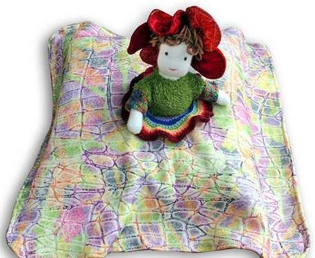 Kwiatowa Spanka-przytulanka - lalka, maskotka
