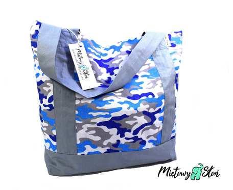 Eko Torba / Shopper bag ~ 100%bawełna ~moro