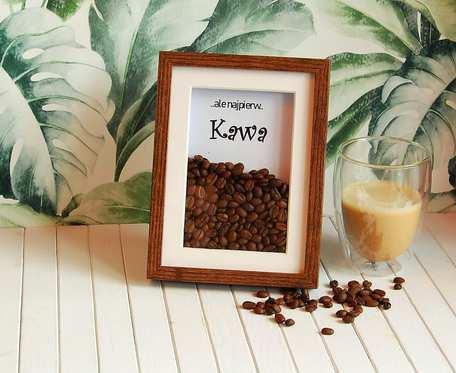 Ramka dla miłośników kawy