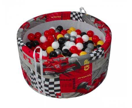 Suchy basen BabyBall z piłeczkami (200 szt) - grube dno 4 cm - Grand Prix