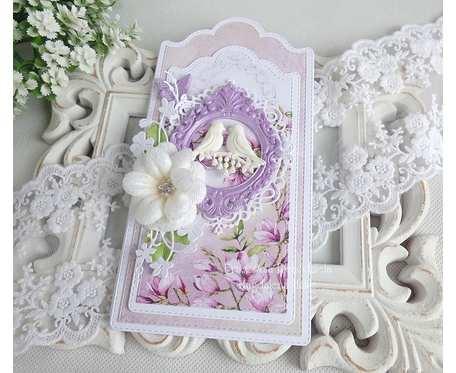 Ślubna kartka w pudełku 247