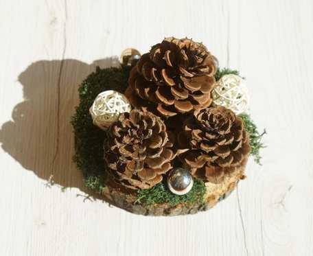 naturalny stroik świąteczny/całoroczny