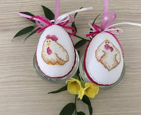 Jajka wielkanocne - kurczaczki