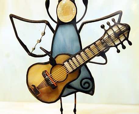 Aniołek gitarzysta