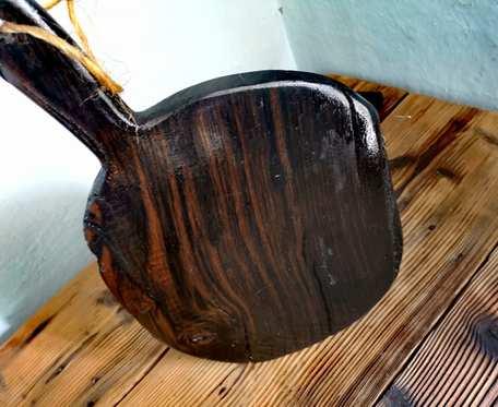 Deska do serwowania z czarnego dębu