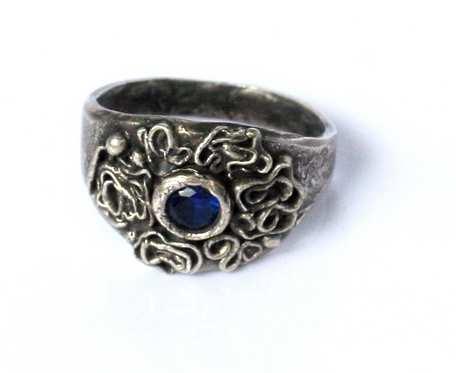 Szafirowiec - pierścionek