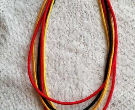 Naszyjnik tekstylny