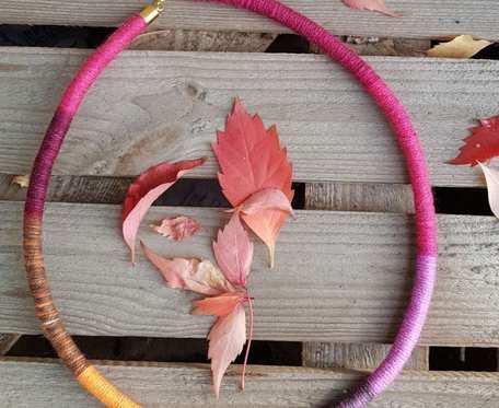 Naszyjnik jesienny