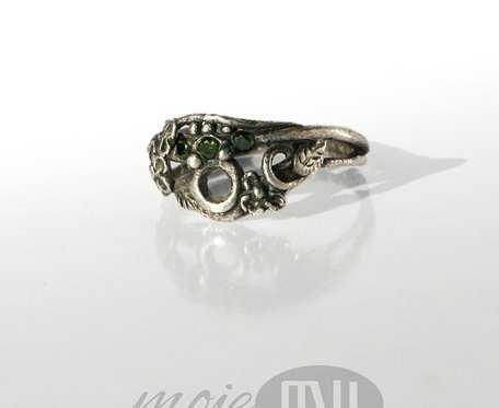 Kwiatowy IV - pierścionek