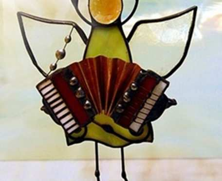Aniołek akordeonista