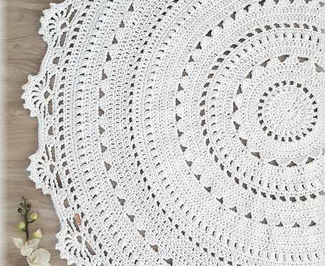 Dywan Mandala Lace - 100 cm